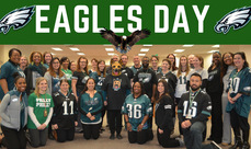 Cover photo of the Eagles Day album